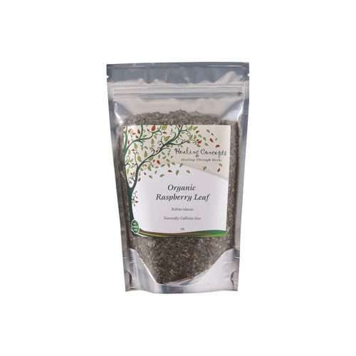CK Health and Wellbeing - Health Shop - Healing Concepts Raspberry Leaf Tea Product 50G