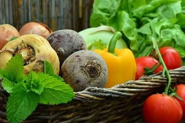 Image of fruit and vegetables for naturopathy