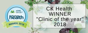 Showing CK Health is winner clinic of the year