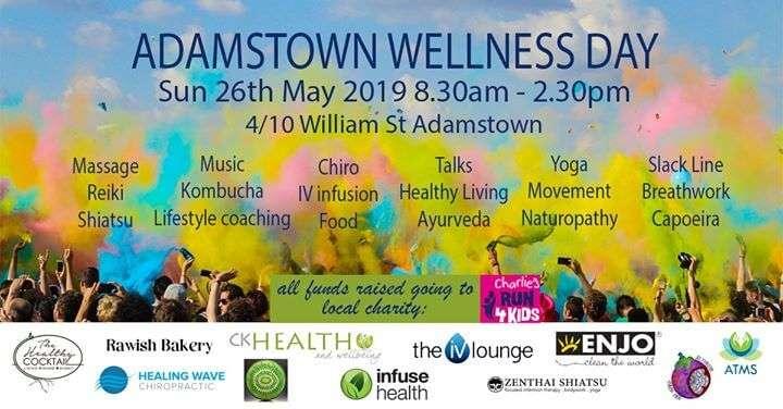 CK Health and Wellbeing - Adamstown Wellness Event -Natural Medicine Week 2019 Banner Image