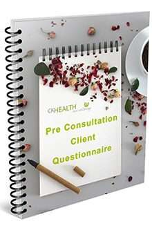 CK Health and Wellbeing - Book Your Naturopath Consultation Pre-Consultation Client Questionnaire Image