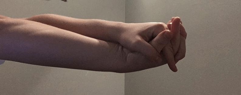 CK Health and Wellbeing - Chronic Pain - Forearms Self Care Twisty Grip Close Grip
