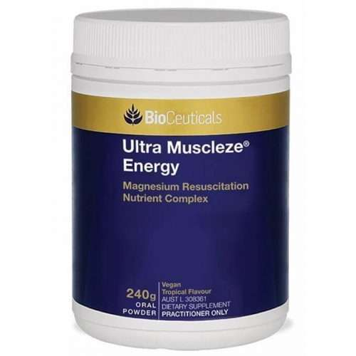 CK Health and Wellbeing - Health Shop - Ultra Muscleze Energy 240G Magnesium Nervous System