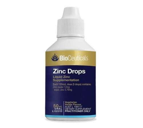 CK Health and Wellbeing - Health Shop - Zinc Drops Body Function Maintenance 50ML