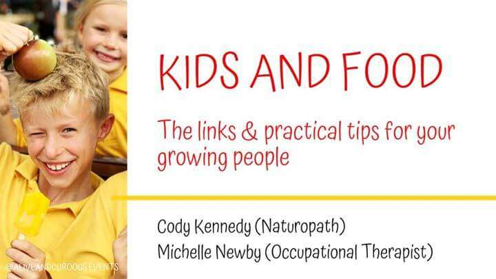 CK Health and Wellbeing - Kids and Food Events -Tips for Growing People Boy in Yellow Shirt