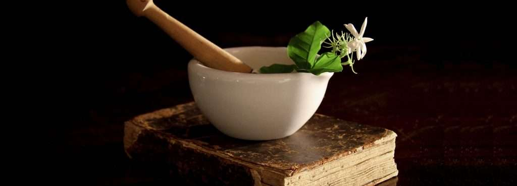 CK Health and Wellbeing - Natural Remedies - Herbal Medicine on Mortar and Pestle Pharmacy
