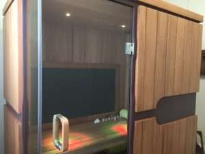 CK Health and Wellbeing - Naturopathy and Natural Remedies - Infrared Sauna Box Room Image